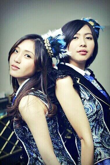 Shinta Naomi, Ghaida Farisya #JKT48 #AKB48