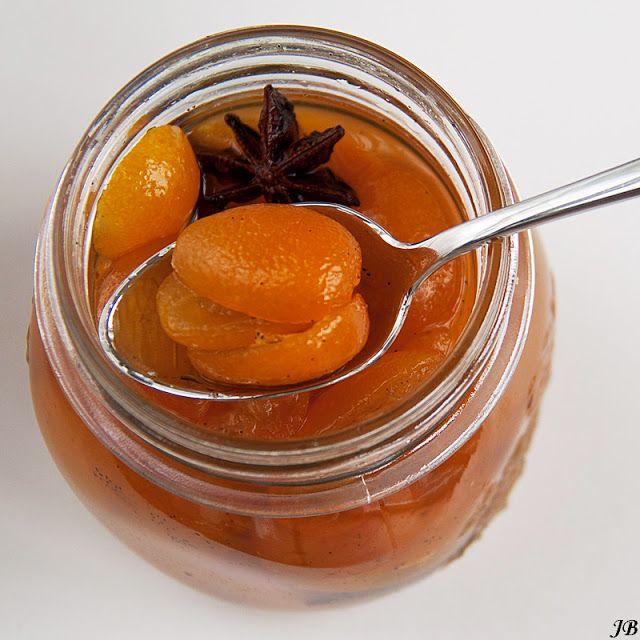 Carolines blog: Gekonfijte kumquats