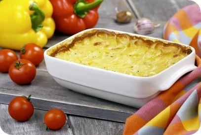 Gratin met knolselderij | Gezonde slanke recepten | Flinndal