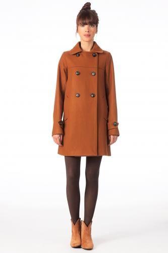 Mode Femme | Manteau Femme Marron   Sessun   Guide Shopping      Rien à se Mettre  | www.rienasemettre.fr