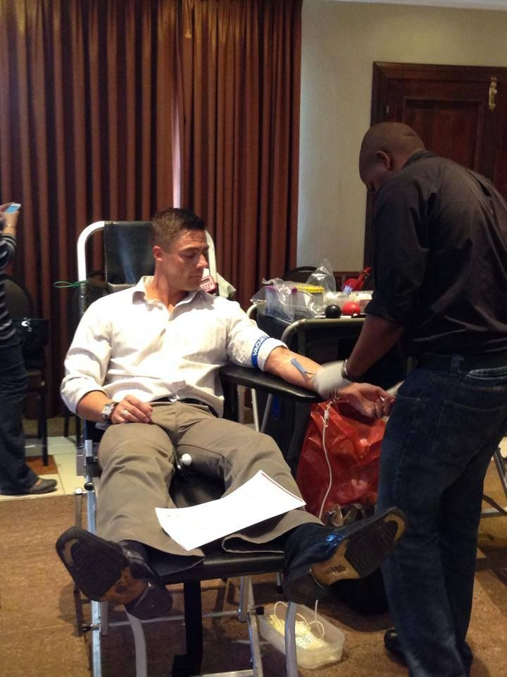 A BIG thank you to everyone who donated blood on the 23rd of May 2014 at Glenburn Lodge! You really made a difference to all in need. #atGuvon #GuvonCares #donateblood #bloodsaveslives