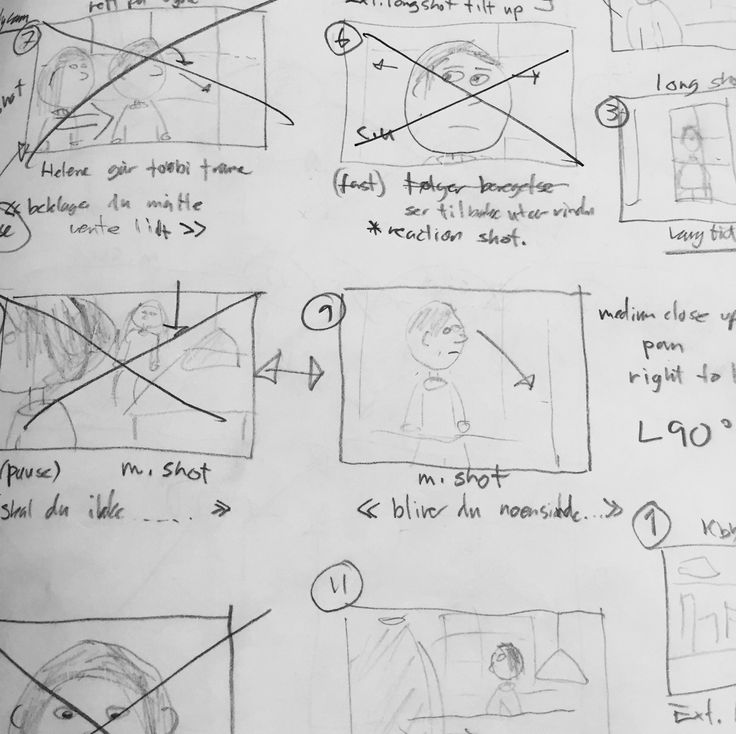 Snapshot of storyboard.