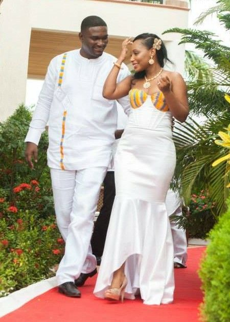 I love ghanaian wedding ~African fashion, Ankara, kitenge, African women dresses, African prints, Braids, Nigerian wedding, Ghanaian fashion, African wedding ~DKK