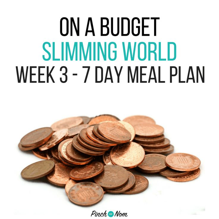 7 Day Slimming World Meal Plan On A Budget Week 3 - Pinch Of Nom