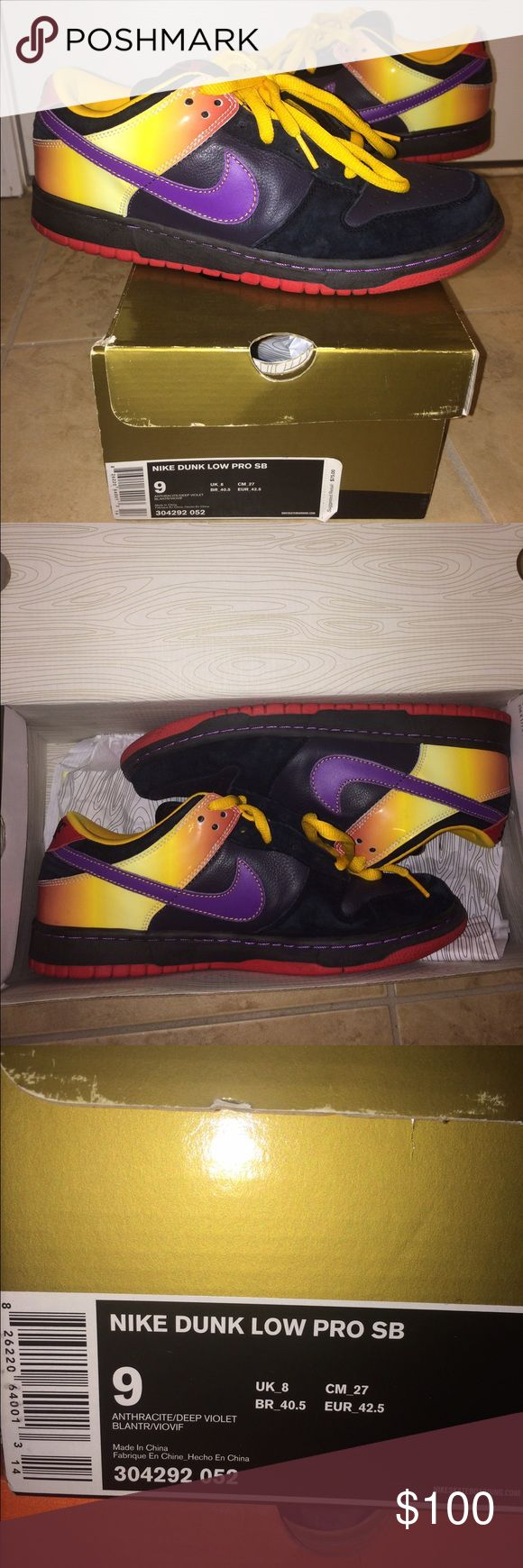 Nike Dunk Low Pro SB Guns n Roses Edition, minimal use, great condition, clean Nike Shoes Sneakers