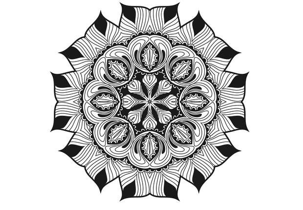 74 best coloriages pour adultes images on pinterest - Mandalas adultes gratuits ...