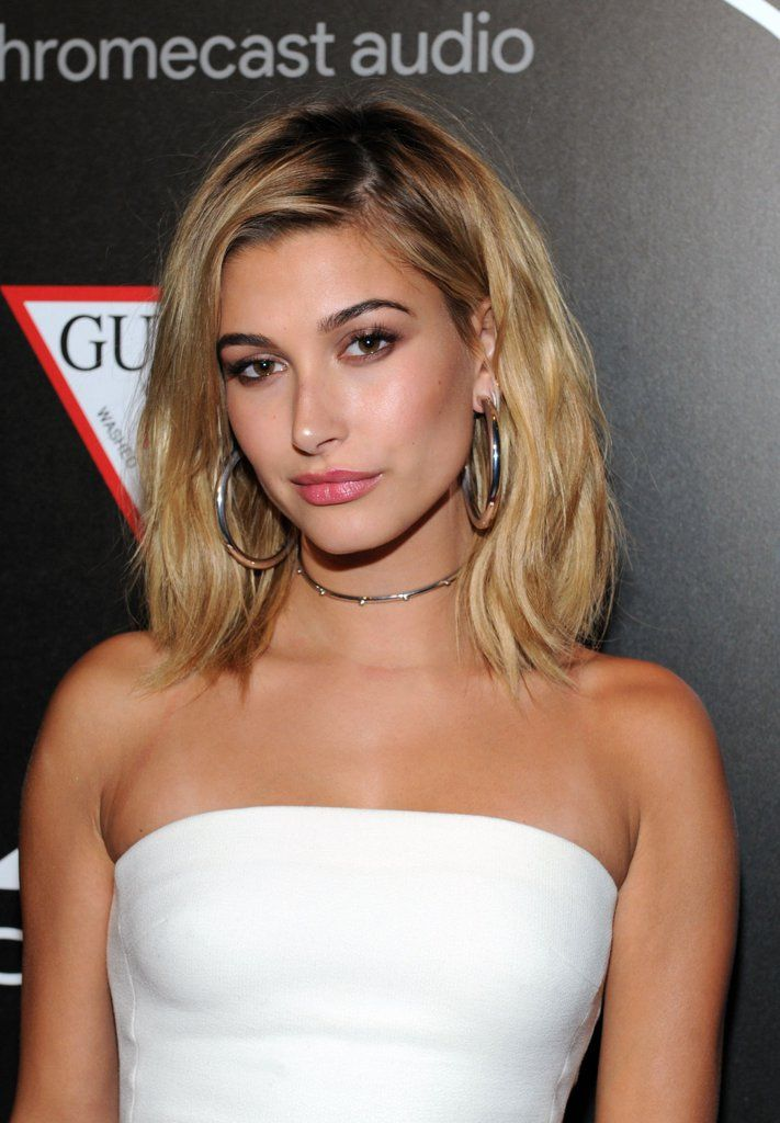 Hailey Baldwin's Strappy Heels Go So High, We're Not Sure ...