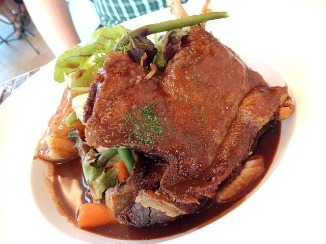 レシピとお料理がひらめくSnapDish - 11件のもぐもぐ - Duck Confit with chocolate orange sauce by prissy