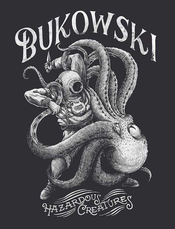 Bukowski on Behance