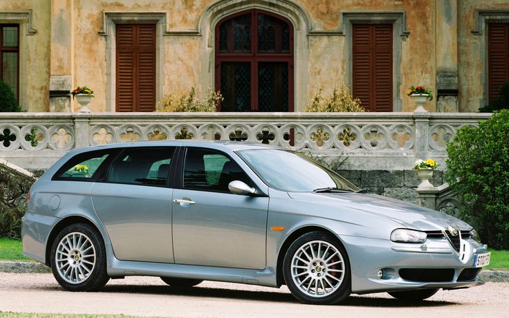 2001 Alfa Romeo 156 Sportwagon (Tipo 932) Alfa romeo 156
