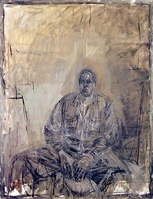 Giacometti - a sculptor who paints/draws