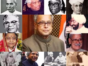 Here you will find the list of President of India, you can also download the PDF, former president Rajendra Prasad to Pranab Mukherjee,