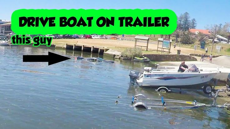 Drive Boat On Trailer Go Fishing Solo how to video Boating Tips Safety B...