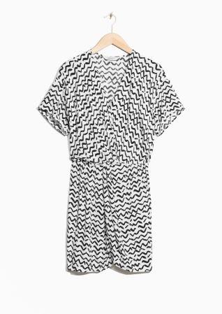 & Other Stories | Wrap Mini Dress