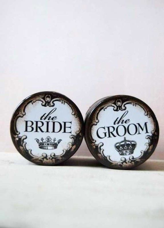 The Bride And The Groom - Wedding Ring Boxes