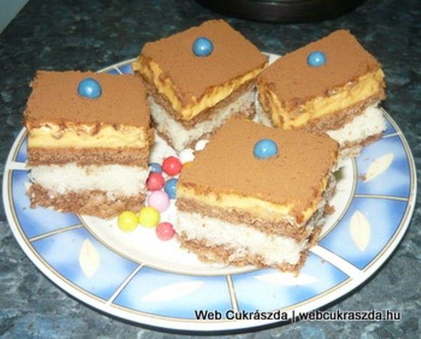 Kókusz szelet recept - közepe olyan lesz, mint a Bounty csoki! - MindenegybenBlog