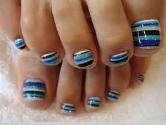 20 Best Toe Nail Art Images On Pinterest Nail Scissors Fingernail