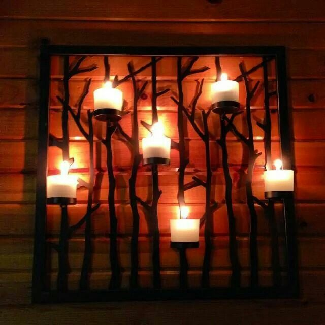 Love this! Woodland light sconce and floor stand! Www ...