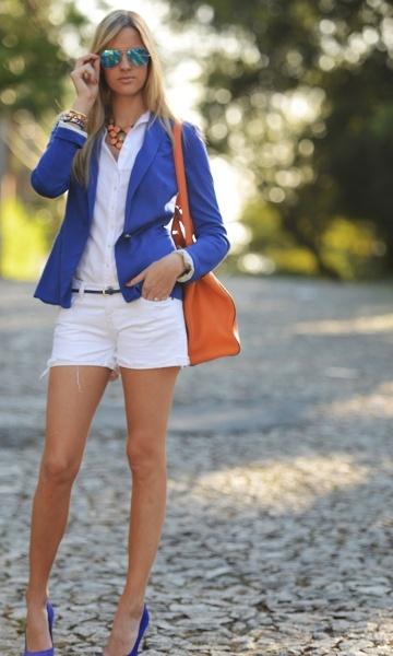 Jovens interessadas em Moda Feminino Look – Azul Klein! - Dolce Moda | Moda It
