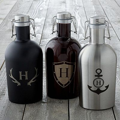 Sturdy stainless steel growler lets you enjoy your favorite draught beers from the comfort of your own living room, patio or porch.