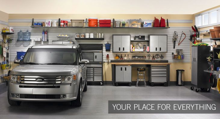 Get the most out of your new Pulte Life Tested™ home with a Gladiator garage that's organized the way you want it.