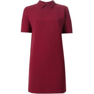 P.A.R.O.S.H. classic collar shift dress