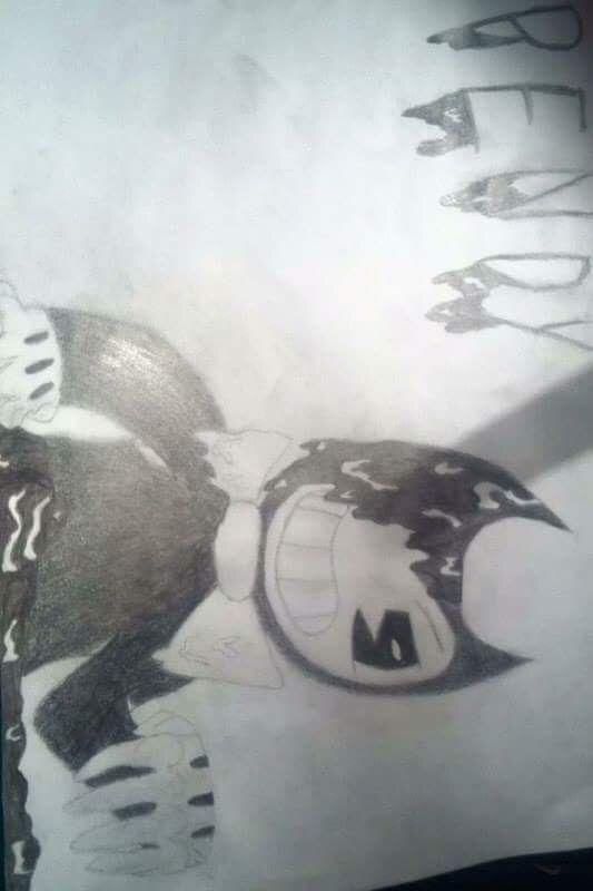 I drew this Bendy :D
