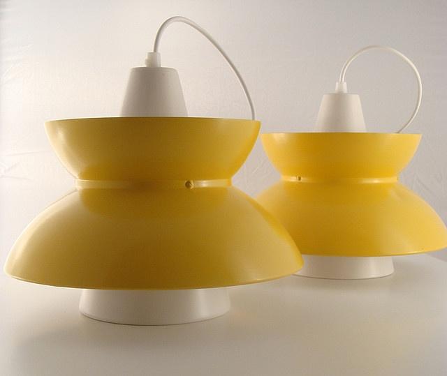 Jorn Utzon, pendant lamps for Louis Poulsen.
