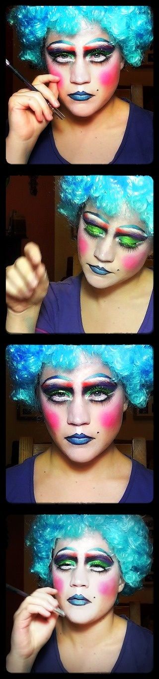 Drag Queen / Cockette Inspired Make Up