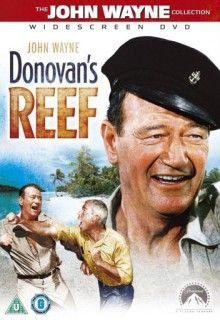 Риф Донована (1963) http://hdlava.me/films/rif-donovana.html  Американская приключенческо-комедийная мелодрама под названием «Риф Донована» (Donovan's Reef) познакомит зрителя с тремя американскими моряками. Главные герои после окончания войны так и остаются устраивать свои жизни на тропическом острове в Тихом океане. Вначале героев ничего не угрожало, их жизнь была вполне размеренна и спокойна. Но однажды все меняется. На остров приехала симпатичная молодая англичанка по имени Амелия…