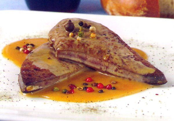 Receta de h gado de ternera a la salsa de pimienta en http for Cocinar higado de ternera