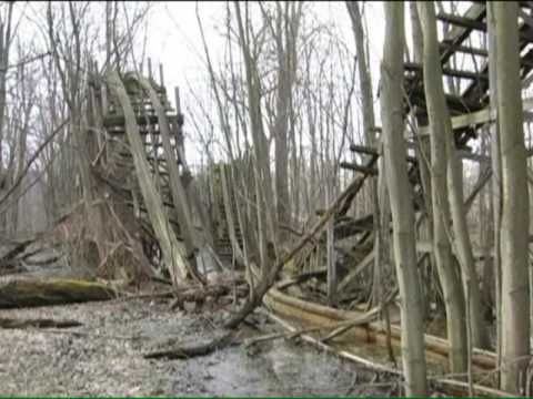 Abandoned Chippewa Lake Amusement Park 1878-2009 Documentary. Great contrasting of the past, and the recent past.