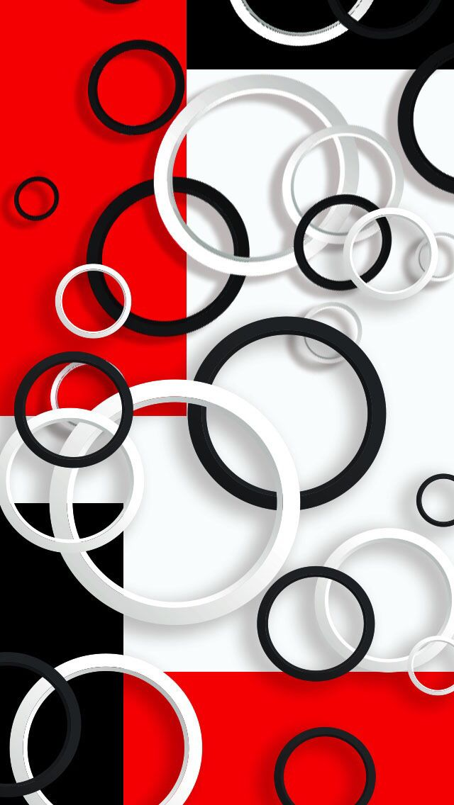 Red, white & black iphone wallpaper | Wall paper phone ...