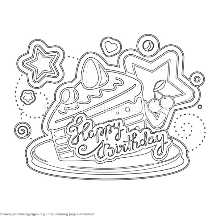 15 Happy Birthday Coloring Pages Getcoloringpages Org Coloring Coloringbook Colo Birthday Coloring Pages Happy Birthday Coloring Pages Love Coloring Pages
