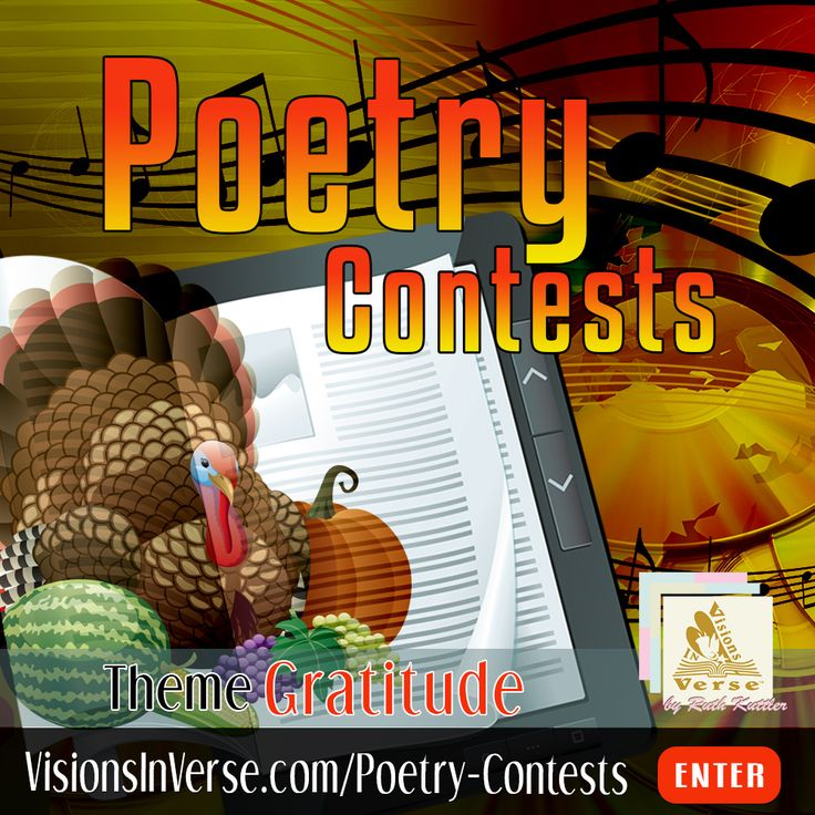 Enter a creative writing poetry contest where your poem is 20 lines or less on the topic of gratitude.   Enter a creative writing poetry contest where your poem is 20 lines or less on the topic of gratitude. #PoetryContest #Gratitude