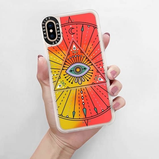 evil eye iphone xs case