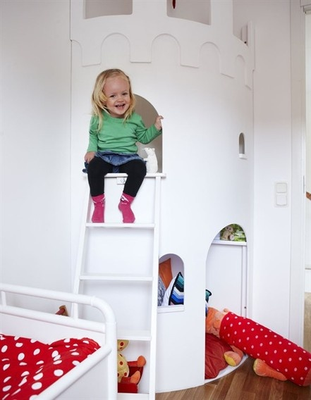 Playroom castle -- would have loved this as a kid!
