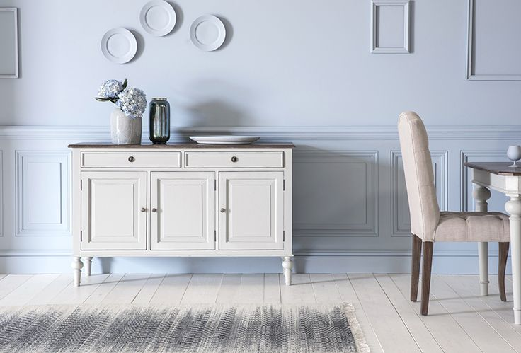 D'Arcy Sideboard with Liesel Dining Chair & Noemie Dining Table