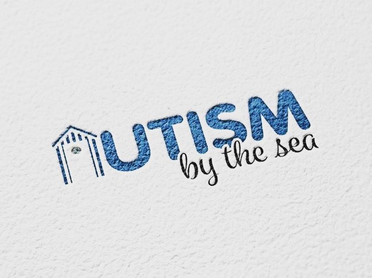 New logo design for a great support group Autism by the sea based on the the South Coast of Sussex. If you need a new logo for your company or organisation please contact www.brandabble.co.uk