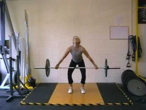 Snatch! and you're done with your workout. It's that good.