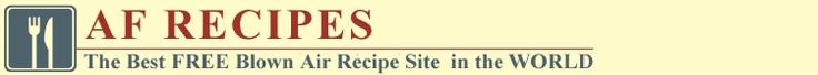 Actifry recipe website