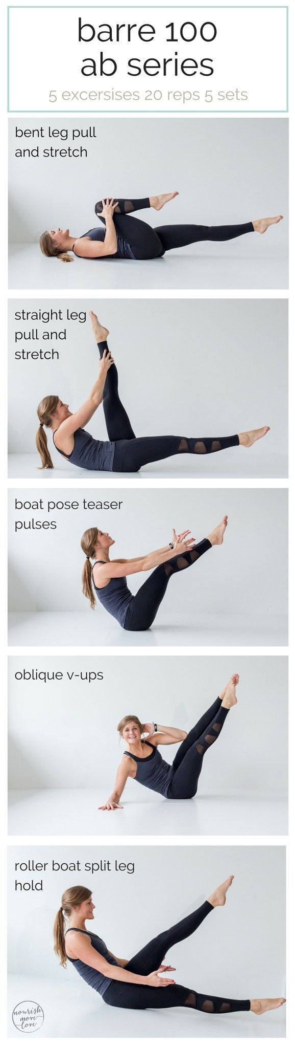 slim, cinch, and sculpt your abs with this barre-inspired core routine you can add onto any workout. so what are you waiting for? press play and barre your way toflatter abs   www.nourishmovelove.com