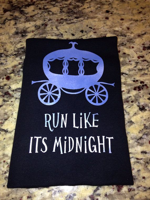 Run Like It's Midnight Custom Racing Tank by LuckyNumberTutu, $19.95