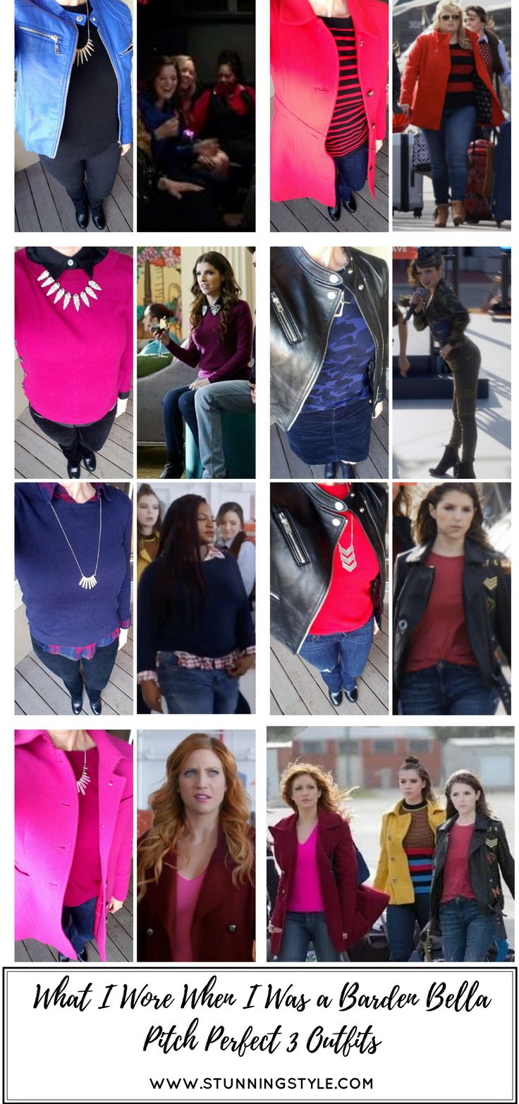 Do you love Pitch Perfect as much as I do? Who is your spirit animal? Beca, Chloe, Aubrey, Fat Amy, or Stacie? Anna Kendrick is mine. When I saw Pitch Perfect 3 I was in love with the outfits they styled, so I took inspiration from them and recreated them with things in my own closet! Come check out what I wore when I was an honorary Barden Bella and wore my own Pitch Perfect Outfits.