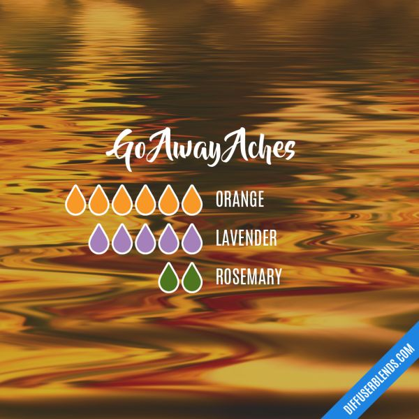 Go Away Aches - Essential Oil Diffuser Blend