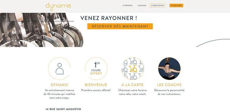 Dynamo Cycling à Paris créé par Lucile Woodward