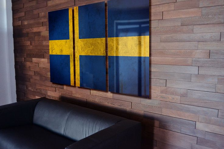 Triptych Sweden Flag hanging Rustic Worn Metal Wall Art Grunge by LuxWallArt on Etsy https://www.etsy.com/listing/235696560/triptych-sweden-flag-hanging-rustic-worn