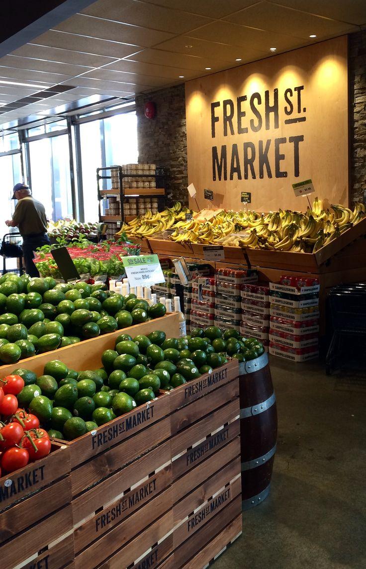 25 best ideas about supermarket design on pinterest for Fresh design