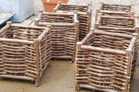 62 Best Diy Weaving And Wood Baskets Wattle Fencing