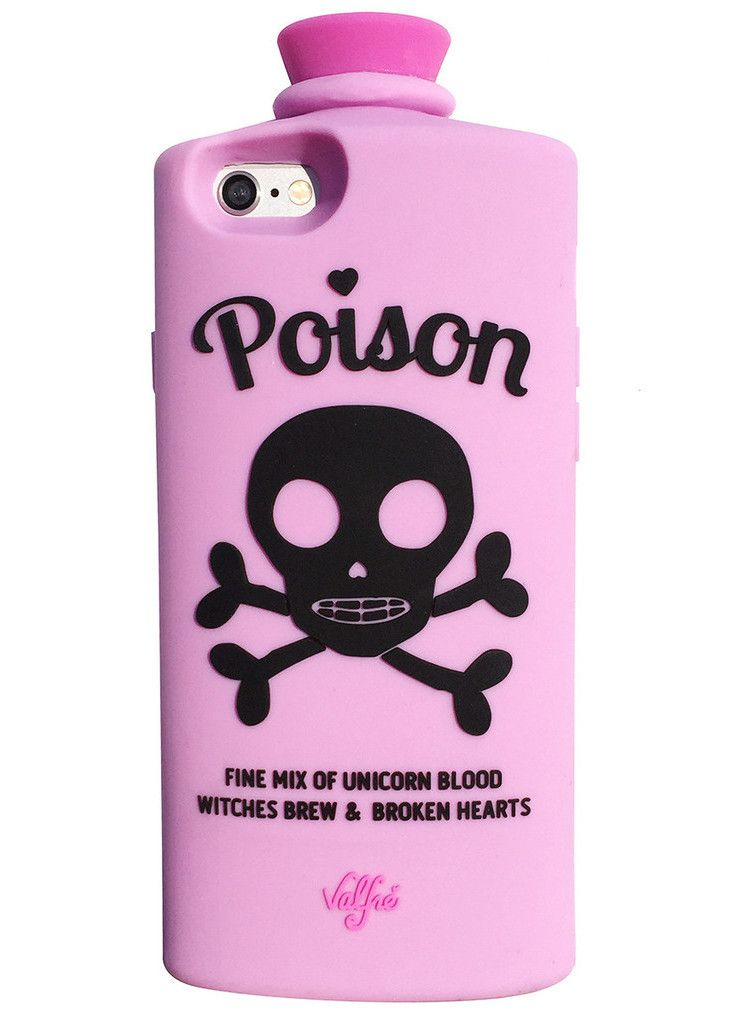 Poison 3D iPhone 6/6S Case (Pink)